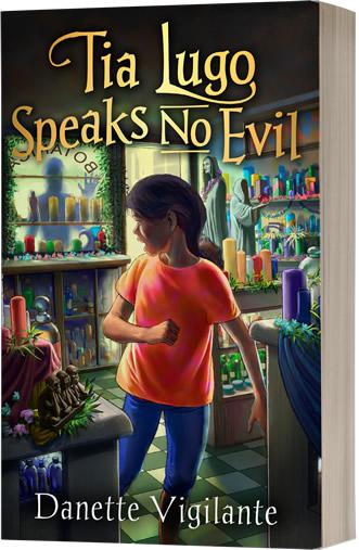 Tia Lugo Speaks No Evil by author Danette Vigilante